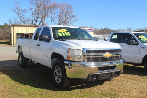 2013 Chevrolet Silverado 2500HD for sale at Vehicle Network - LEE MOTORS in Princeton NC