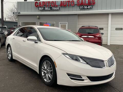 2015 Lincoln MKZ for sale at Capitol Auto Sales in Lansing MI