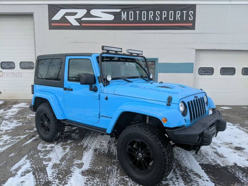 2017 Jeep Wrangler for sale at RS Motorsports, Inc. in Canandaigua NY