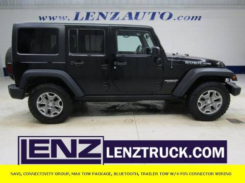 2016 Jeep Wrangler Unlimited for sale at LENZ TRUCK CENTER in Fond Du Lac WI