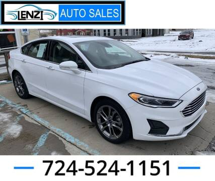 2020 Ford Fusion for sale at LENZI AUTO SALES in Sarver PA
