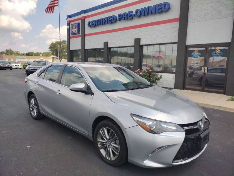 2017 Toyota Camry for sale at Ultimate Auto Deals DBA Hernandez Auto Connection in Fort Wayne IN