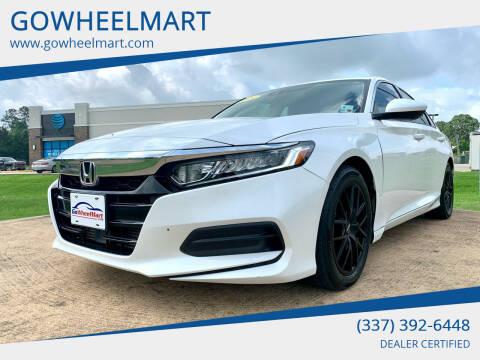 2019 Honda Accord for sale at GOWHEELMART in Leesville LA