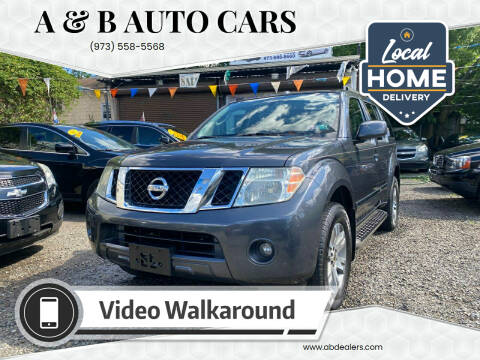 2011 Nissan Pathfinder for sale at A & B Auto Cars in Newark NJ