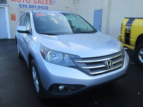 2012 Honda CR-V for sale at Small Town Auto Sales in Hazleton PA