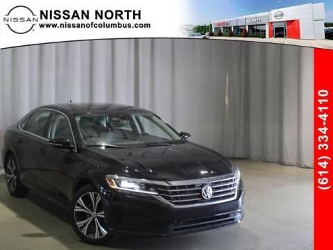 2020 Volkswagen Passat for sale at Auto Center of Columbus in Columbus OH
