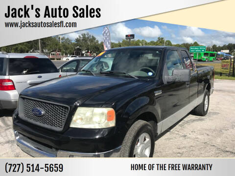 2004 Ford F-150 for sale at Jack's Auto Sales in Port Richey FL