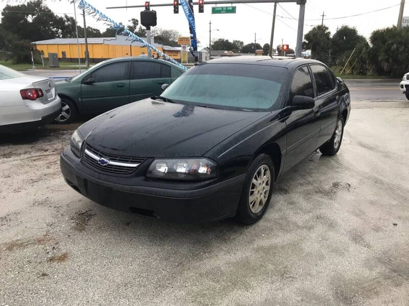 2003 Chevrolet Impala for sale at SKYLINE AUTO SALES LLC in Winter Haven FL