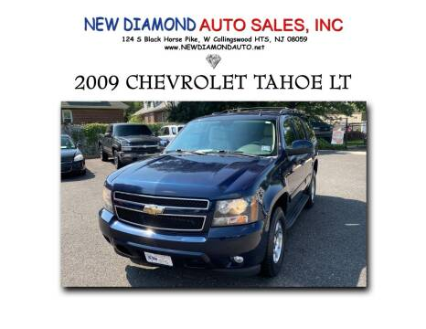 2009 Chevrolet Tahoe for sale at New Diamond Auto Sales, INC in West Collingswood Heights NJ
