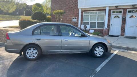 2003 Honda Civic for sale at A LOT OF USED CARS in Suwanee GA