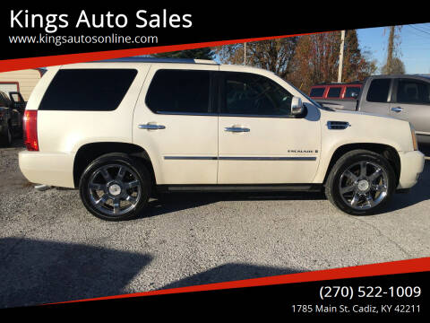 2009 Cadillac Escalade for sale at Kings Auto Sales in Cadiz KY