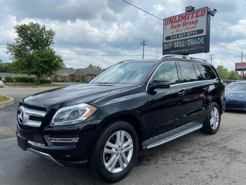 2014 Mercedes-Benz GL-Class for sale at Unlimited Auto Group in West Chester OH
