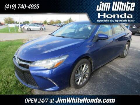 2015 Toyota Camry for sale at The Credit Miracle Network Team at Jim White Honda in Maumee OH