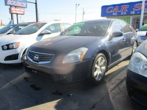 2008 Nissan Maxima for sale at CAR SOURCE OKC in Oklahoma City OK