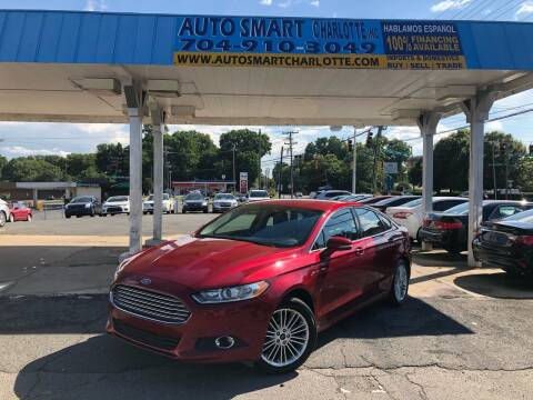 2016 Ford Fusion for sale at Auto Smart Charlotte in Charlotte NC