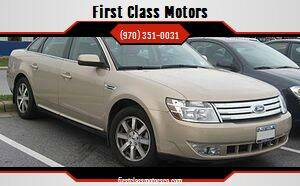 2007 Ford Taurus for sale at First Class Motors in Greeley CO