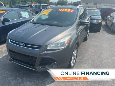 2015 Ford Escape for sale at Excel Auto Sales LLC in Kawkawlin MI