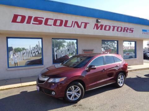 2013 Acura RDX for sale at Discount Motors in Pueblo CO