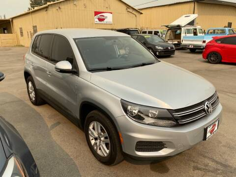 2013 Volkswagen Tiguan for sale at Approved Autos in Bakersfield CA