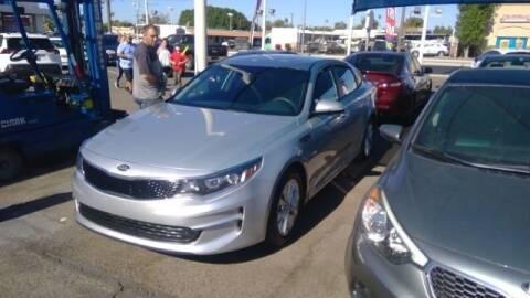 2017 Kia Optima for sale at USA Auto Inc in Mesa AZ