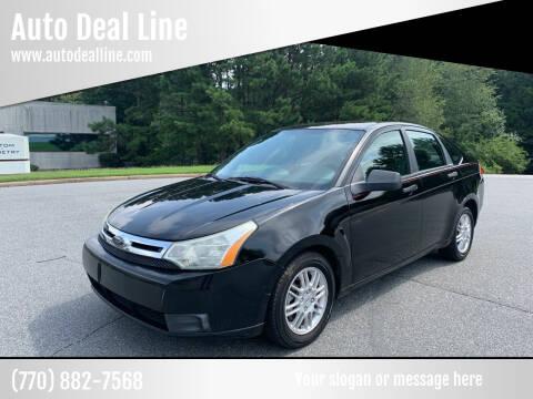 2010 Ford Focus for sale at Auto Deal Line in Alpharetta GA
