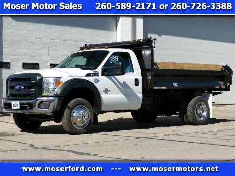 2014 Ford F-450 Super Duty for sale at Moser Motors Of Portland in Portland IN