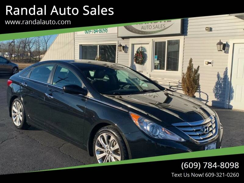 2013 Hyundai Sonata for sale at Randal Auto Sales in Eastampton NJ