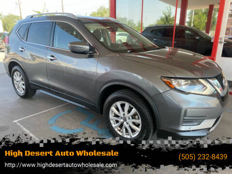 2017 Nissan Rogue for sale at High Desert Auto Wholesale in Albuquerque NM