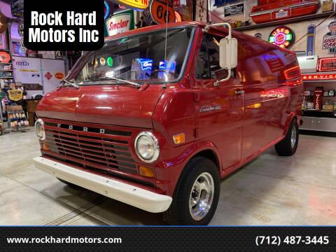 1969 Ford E-100 for sale at Rock Hard Motors Inc in Treynor IA