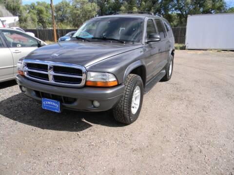 2001 Dodge Durango for sale at Cimino Auto Sales in Fountain CO