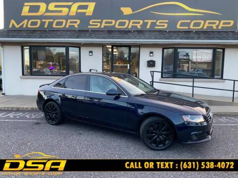 2011 Audi A4 for sale at DSA Motor Sports Corp in Commack NY