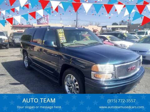 2005 GMC Yukon for sale at AUTO TEAM in El Paso TX