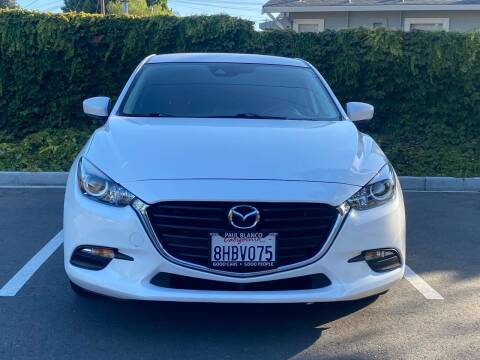 2017 Mazda MAZDA3 for sale at CARFORNIA SOLUTIONS in Hayward CA