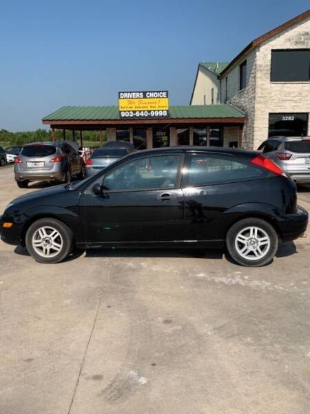 2007 Ford Focus for sale at Driver's Choice in Sherman TX