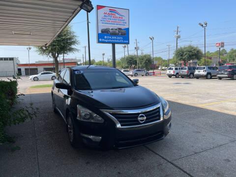 2015 Nissan Altima for sale at Magic Auto Sales - Cash Cars in Dallas TX