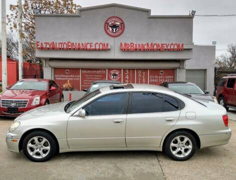 2003 Lexus GS 300 for sale at Eazy Auto Finance in Dallas TX