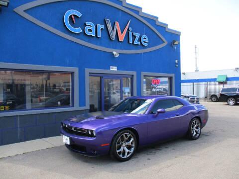 2016 Dodge Challenger for sale at Carwize in Detroit MI