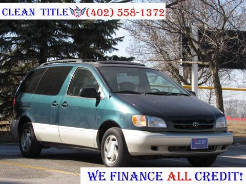 1998 Toyota Sienna for sale at NY AUTO SALES in Omaha NE