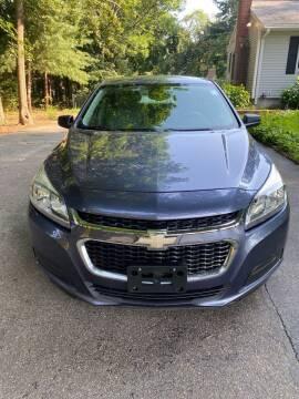 2014 Chevrolet Malibu for sale at Gia Auto Sales in East Wareham MA