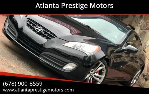 2010 Hyundai Genesis Coupe for sale at Atlanta Prestige Motors in Decatur GA