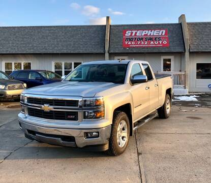 2014 Chevrolet Silverado 1500 for sale at Stephen Motor Sales LLC in Caldwell OH