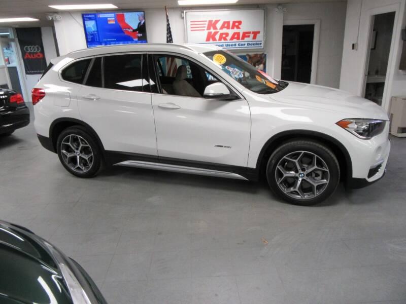 2018 BMW X1 for sale at Kar Kraft in Gilford NH