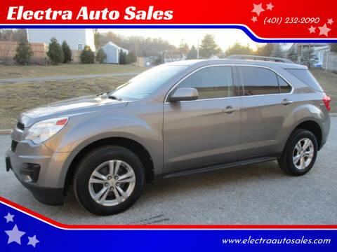 2012 Chevrolet Equinox for sale at Electra Auto Sales in Johnston RI