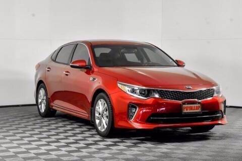 2018 Kia Optima for sale at Chevrolet Buick GMC of Puyallup in Puyallup WA