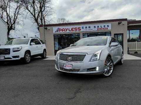 2013 Cadillac XTS for sale at PAYLESS CAR SALES of South Amboy in South Amboy NJ