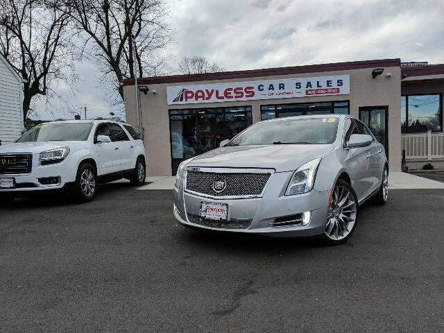 2013 Cadillac XTS for sale at PAYLESS CAR SALES of South Amboy in South Amboy NJ