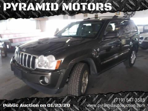 2005 Jeep Grand Cherokee for sale at PYRAMID MOTORS - Pueblo Lot in Pueblo CO
