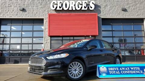 2016 Ford Fusion Hybrid for sale at George's Used Cars - Pennsylvania & Allen in Brownstown MI