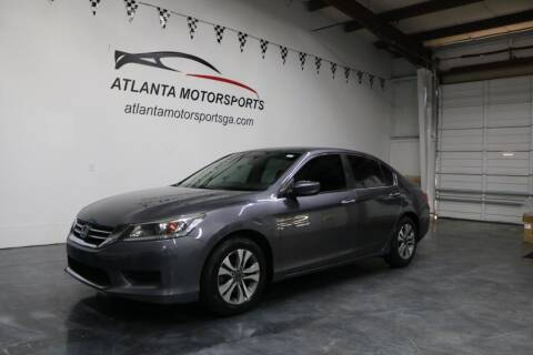 2015 Honda Accord for sale at Atlanta Motorsports in Roswell GA