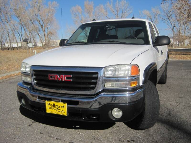 2004 GMC Sierra 1500 for sale at Pollard Brothers Motors in Montrose CO
